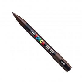 Posca - PC-3M Fine Bullet Tip - Water Based Paint Marker - Dark Brown